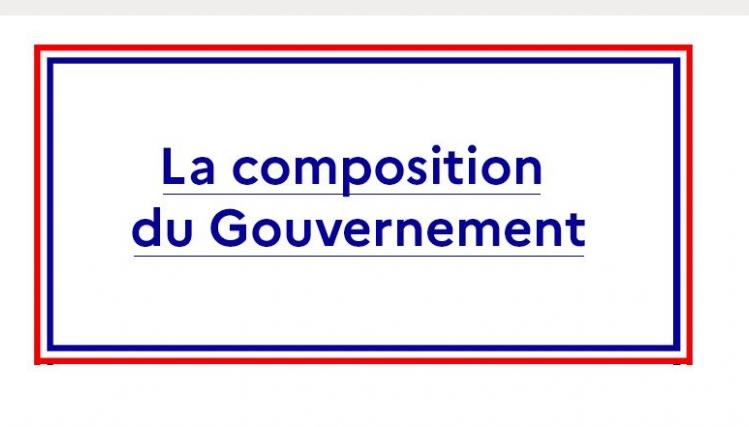 Composition gouvernement