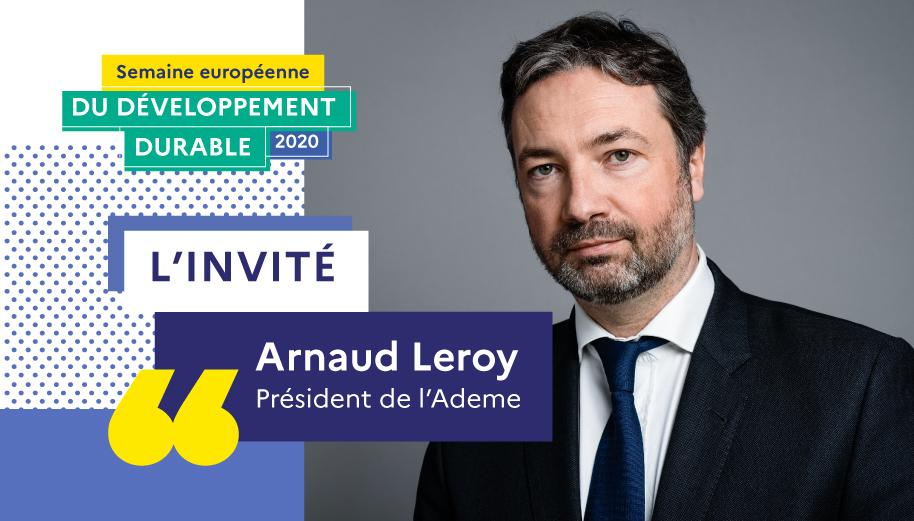 Photo portrait de l'interviewé, Arnaud Leroy
